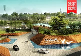 仙鹤湖湿地鹤园